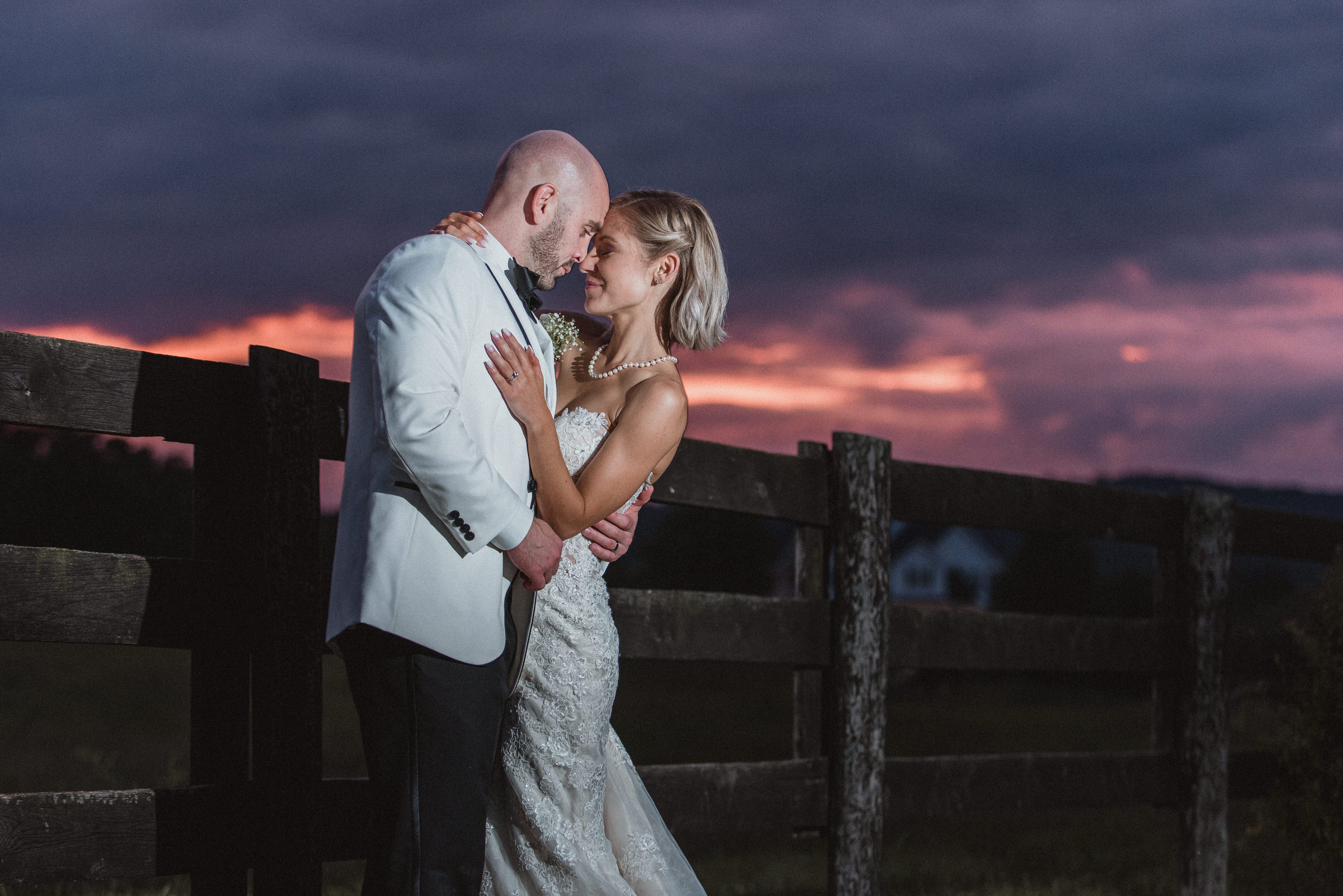 102-Leesburg-Barn-Wedding-Portraits-Sunset