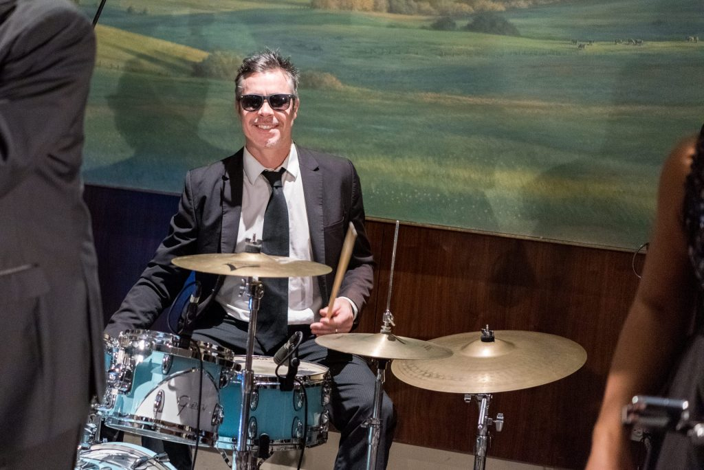 The band Doctor's Orders performs at District Winery.