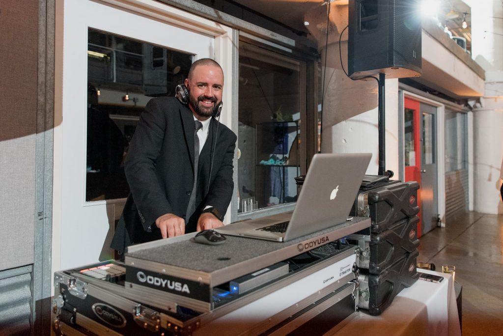 A portrait of DJ Evan Reitmeyer from MyDeeJay.