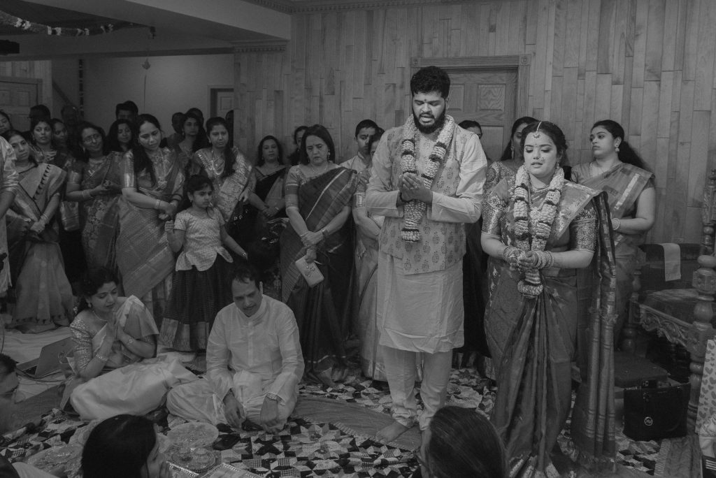 An Indian / Hindu wedding ceremony in Vienna, VA.