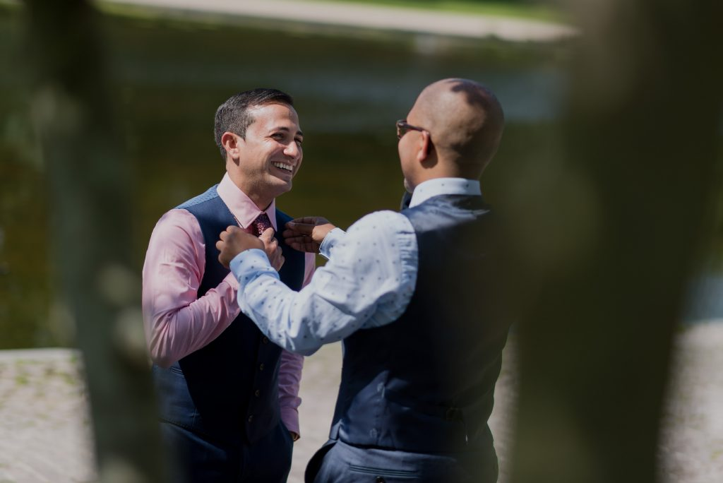 A LGBT wedding photographed by DC Gay Wedding Photographer Chris Ferenzi.